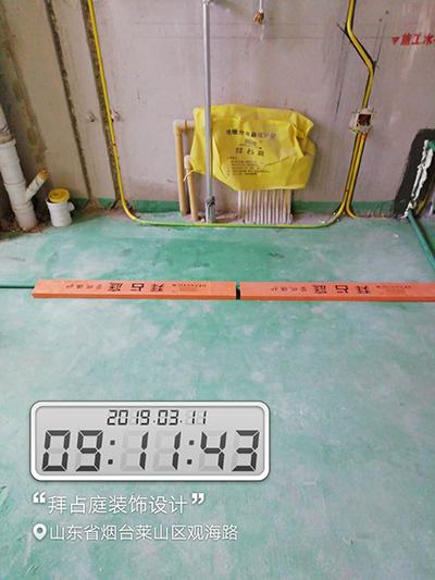 水电线管成品保护